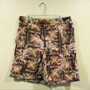 Patagonia floral swim board surf shorts size 36